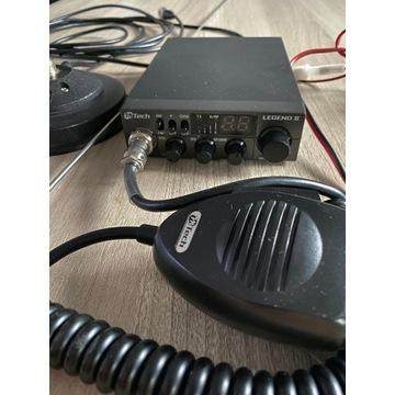 CB Radio MTECH LEGEND II plus antena SIRIO ML 145