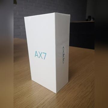 Smartfon OPPO AX7 Niebieski, Nowy, GW. 2 lata