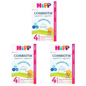 HiPP 4 Junior COMBIOTIK 3x900g