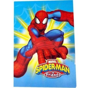 Zeszyt A5 32 kartek linia SpiderMan