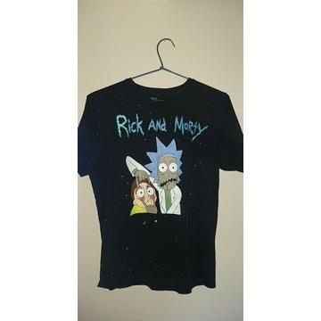 Tshirt- Rick i morty