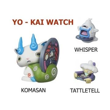 YO-KAI WATCH FIGURKA + MEDAL HASBRO KOMASAN