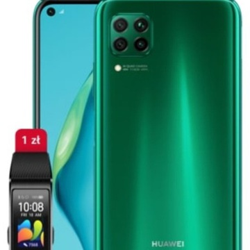 Huawei P40 Lite 6/128 GB NFC Dual Sim z Band 4 Pro