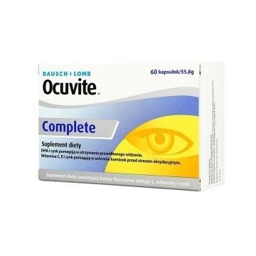 Ocuvite Complete, 60 kapsułek