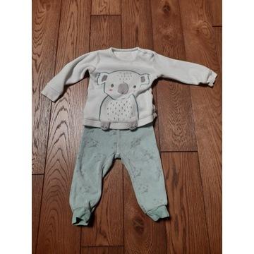 Piżama dziecięca komplet rozmiar 86