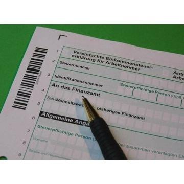 Einkommensteuererklärung niemiecki PIT Finanzamt