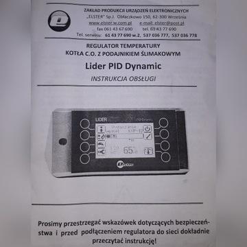 Sterownik pieca PID kotła z podajnikiem, czujnik