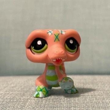Littles Pet Shop - figurka, krokodyl/smok