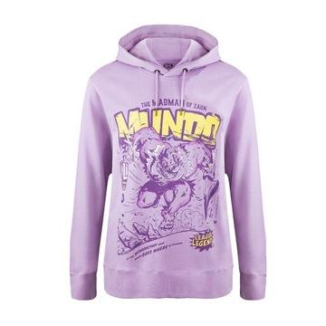 Bluza z kapturem Mundo w stylu komiksowym XL - LoL