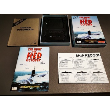 Gra ZX spectrum box, Hunt for Red October