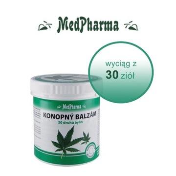 MedPharma Balsam Konopny + Wyciąg z 30 Ziół 250 ml