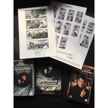 JAMES BOND 007  - zestaw kolekcjonerski