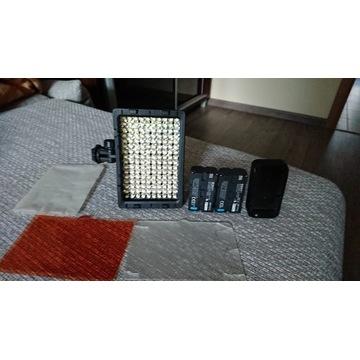 Lampa CN 160 + 2 BATERIE SONY