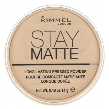 Puder Rimmel Stay Matte 001