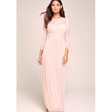 Suknia dla druhny suknia wieczorowa  40 42 44