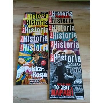 Focus Historia rocznik 2010 (11 numerów) stan BDB