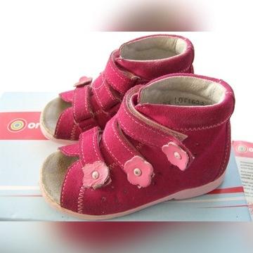 Buty ortopedyczne dla dziewczynki nr 25