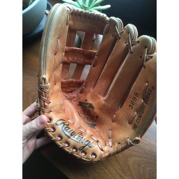 Skórzana rękawica Baseballowa