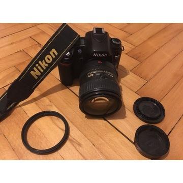 Lustrzanka Nikon D80 obiektyw 18-200