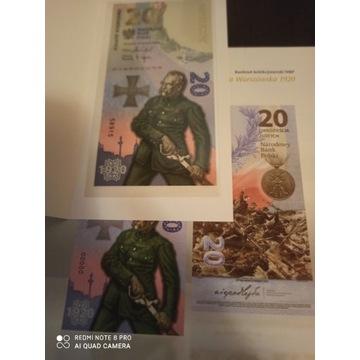 20zł Bitwa Warszawska 2020 Banknot