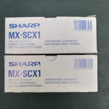MX-SCX1 sharp zszywki oryginalne 3x5000