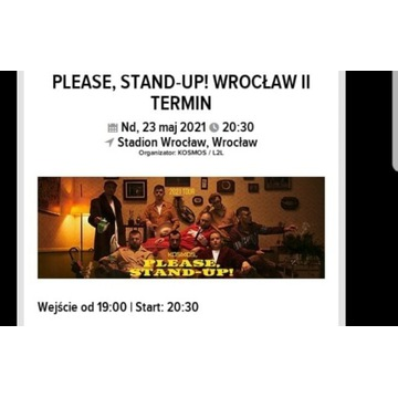 Bilety na stand up Wrocław