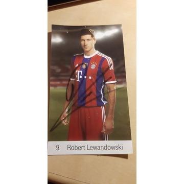 Autograf Roberta Lewandowskiego