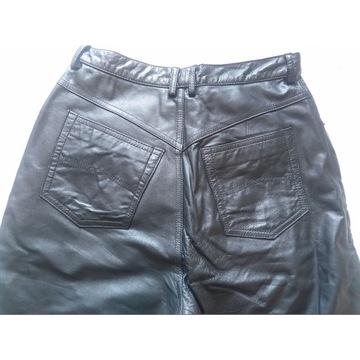 Spodnie damskie z skóry firmy YORN boutique