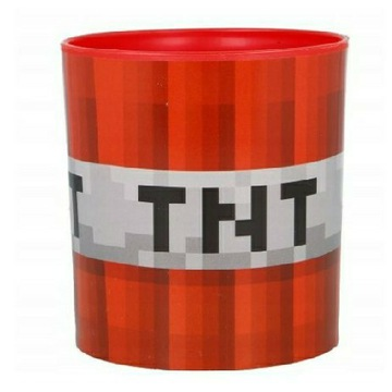 Minecraft TNT kubek gadżet figurka do mikrofalówki