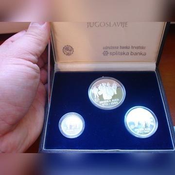 Jugosławia  1000  2000  3000 Dinarów 1985 Sinjska