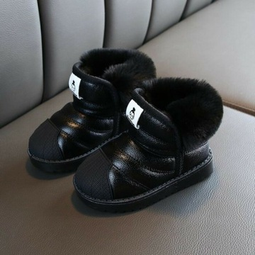 Buty / śniegowce dziecięce r.23