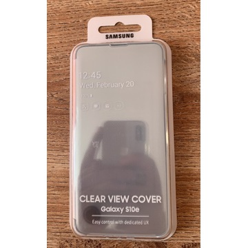 Etui Clear View Cover Samsung s10e