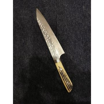 Ręcznie kuty nóż Szefa kuchni 21cm Takeshi Saji