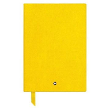Notatnik Montblanc Stationery, żółty, linia.