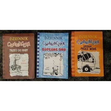 Dziennik Cwaniaczka - zestaw 3 książek