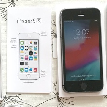 iPhone 5s 16GB space/gray