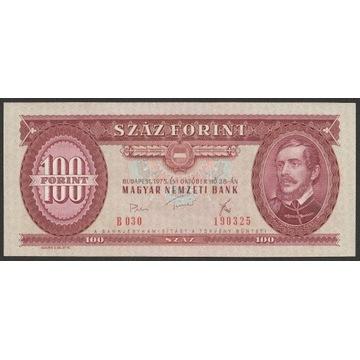 Węgry 100 forintów 1975 - Lajos Kossuth - UNC