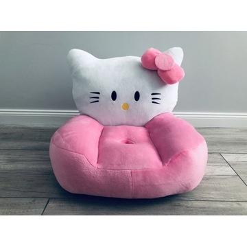Fotelik Pluszowy Krzesełko Hello Kitty NOWY