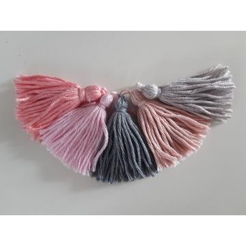 Chwosty bawełna chustki szaliki czapki 5cm