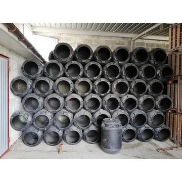 Beczki plastikowe 160l około 200 sztuk