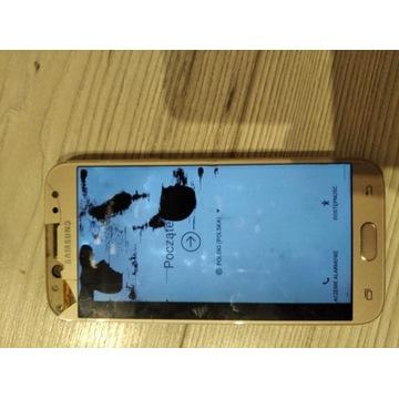 Samsung galaxy j5  2017 uszkodzony