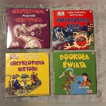4 gry edukacyjne encyklopedie CD-ROM