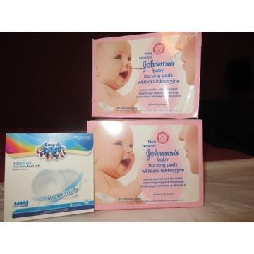 Wkładki laktacyjne JOHNSON'S Baby + gratis