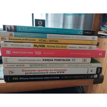 Tworzenie stron WWW - Zestaw książek