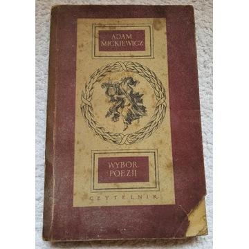Książka PRL Wybór poezji - Adam Mickiewicz 1954