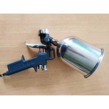 Pistolet lakierniczy 600 ml, dysza 1,5 mm. NOWY.