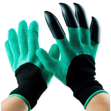 Rękawice ogrodowe grabie wampirki mocne rękawiczki