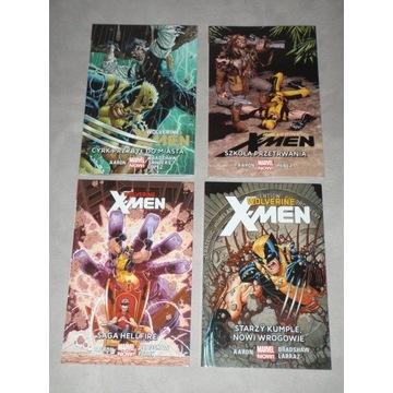 WOLVERINE I X-MEN 1-4 Komplet Marvel/Egmont