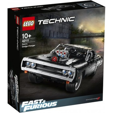 Lego Technic 42111 Dom's Dodge Charger, ORYGINALNE