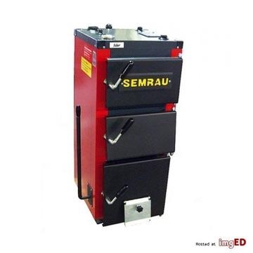 piec zasypowy Semrau Lider 12 kW